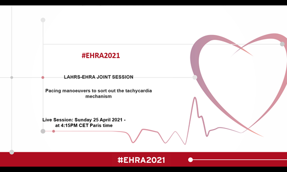 LAHRS takes part in EHRA 2021