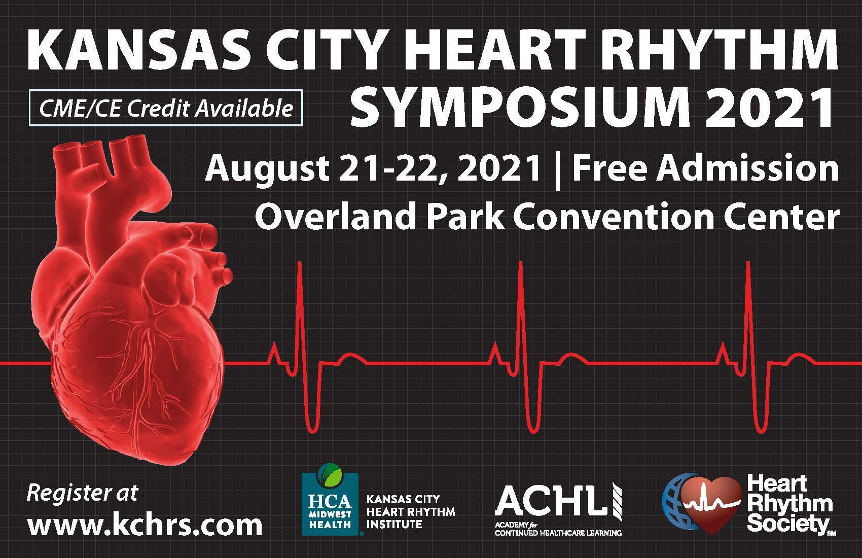 Next Week: Kansas City Heart Rhythm Symposium 2021